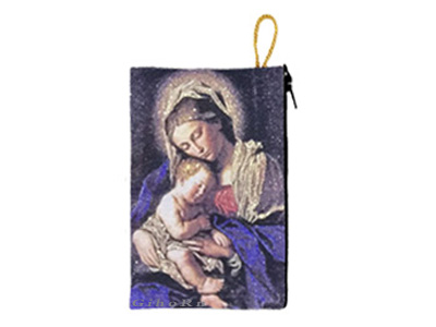 Rosary Holder Tapestry Style 370106