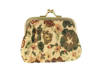 Brocade  Fabric Rosary Case 370201