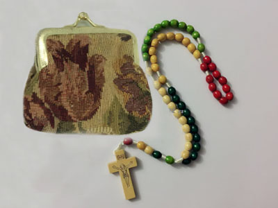 Colored Cord Rosary 350101